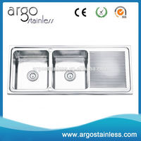 Fast delivery factory price drain pad kitchen sinks wholesales