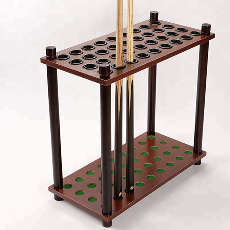 square shape billiard cue standing rack - <strong>20</strong> holes