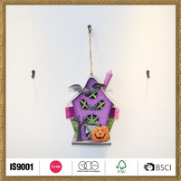 handicraft works pumpkin and house handcraft Halloween hangings