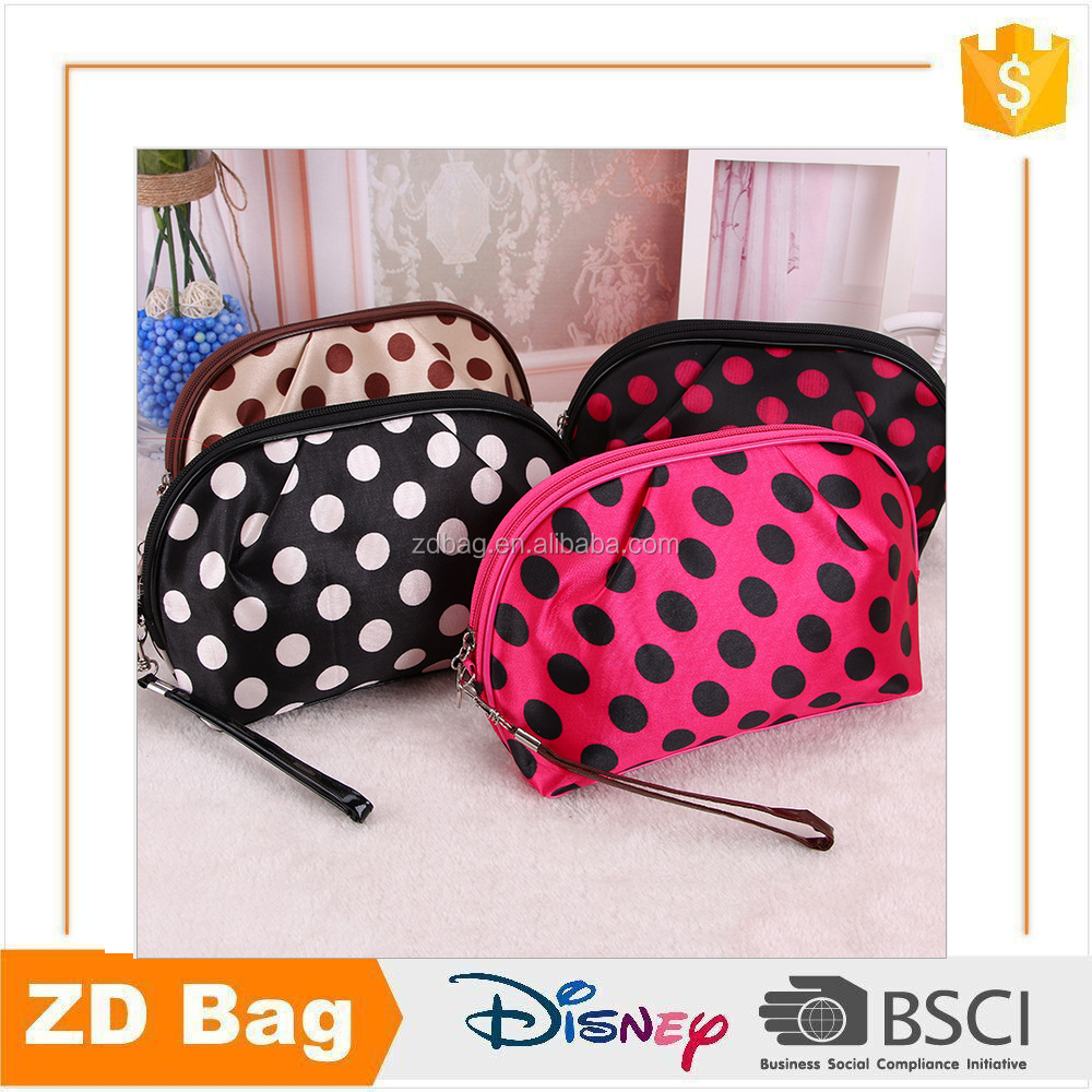 Hot sale cheap fashion full color printed cosmetic makeup bag