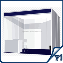 Competitive price aluminum exhibition stall designer in china for standard booth 3m by 3m