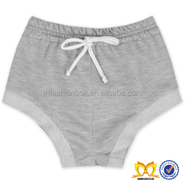 Wholesale 2016 New Fashion Baby Girls Grey Shorts With A Wihte Bow Belt Kids Baby Shorts