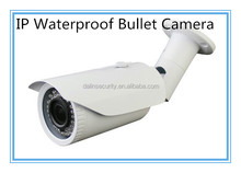 China H.264 1080P 2 Mega IP IR Weatherproof Bullet Camera with 2.8-12mm lens