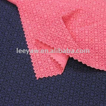 TH-0027 77% nylon Full Dull and 23% Spandex Fabric with Tricot Printing Construction