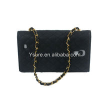 Fashion Cross pattern copper zipper wallet With Three Folds cover for Samsung Galaxy S3 SIII i9300