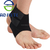 Outdoors sports prevent sprain ankle support adjustable bandages pad sleeve wrap