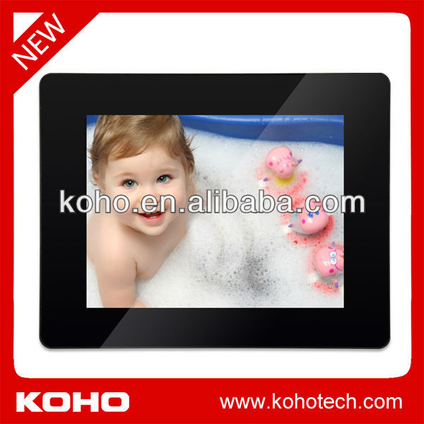 New 8 inch HD Video digital photo frame