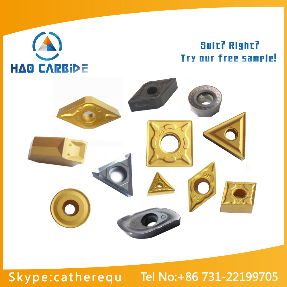 High precision tungsten carbide inserts with longer working life