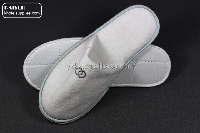 Wholesales disposable hotel bathroom adult guests slippers