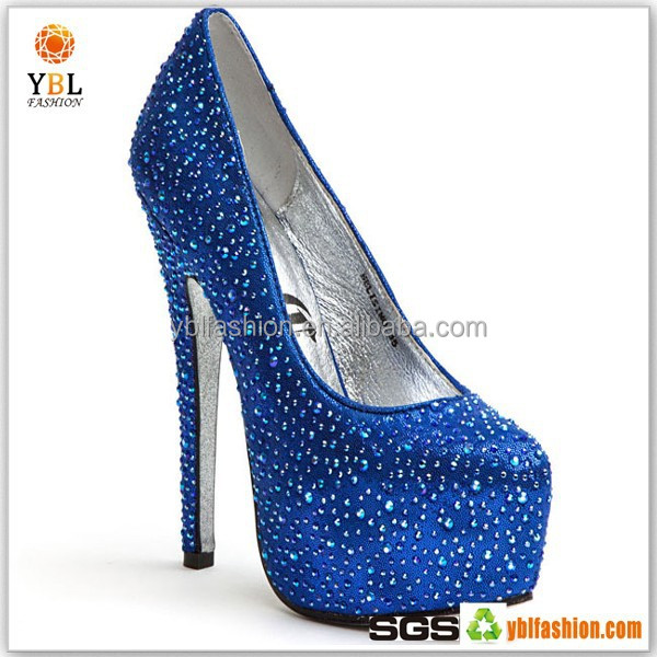 Beautiful Design High Heeled Shoes Rhinestone Transfer For Women Shoes Upper
