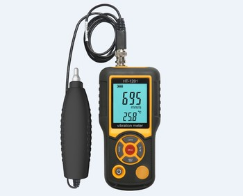 High Pression Ultrasonic Vibrometer Portable Digital LCD Vibration