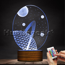 Space 3D Lamp Glowing Led Lamp Heaven Star 3D Hologram Light Baby Night Lights USB Table Lamp