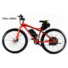 Long distance electric snow fat bike 500w with lithium batter