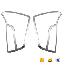 chromed abs plastic car accessories rear Lamp Cover For innova prius 30 2012 Tail Light cover