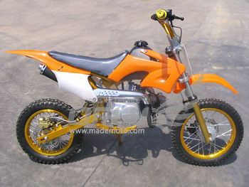 Gas-Powered 150CC Dirt Bike with Full Aluminum Wheel Frame