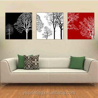 Abstract Printing Trees Painting Wall Art Picture For Living Room Decoration