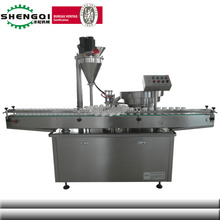 Shanghai Automatic Small Dose Baby Prickly Heat Powder Filling and Cap Screwing Machine