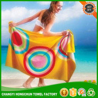 fabric and custom print wholesale beach towel