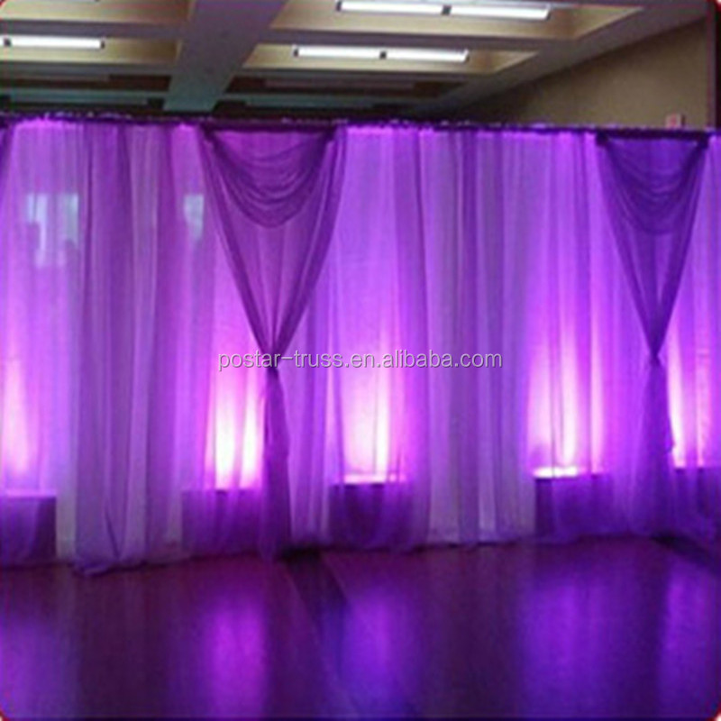 Top quality used pipe and drape for sale backdrop pipe and drape for wedding