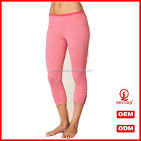 Hot sale factory made custom jogger pants quick dry yoga pants tight design