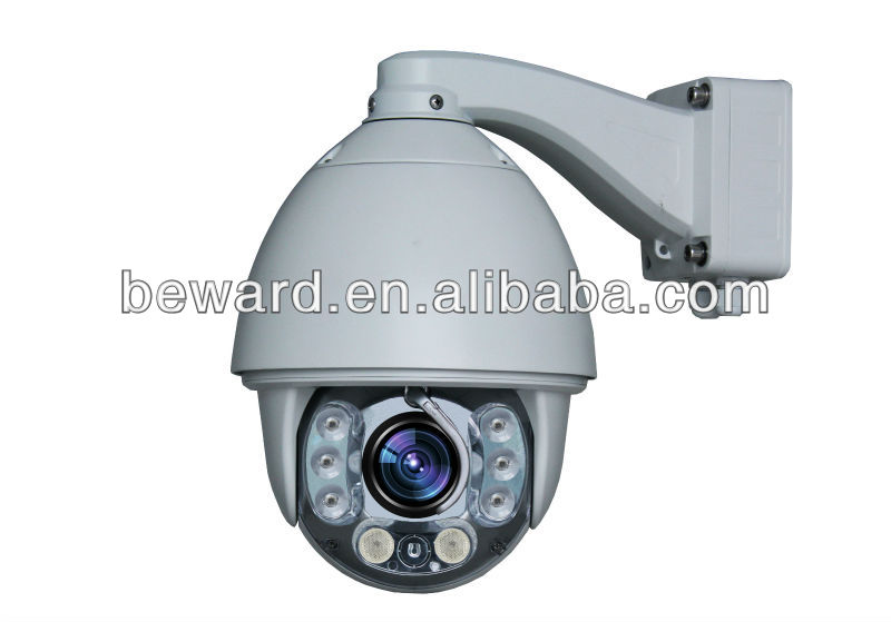 1.0MP Sony CMOS 720P wireless outdoor ptz ip ir speed dome camera