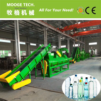 PET Bottle washing recycling machine for Waste plastic Reused