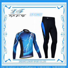sublimation print top quality custom specialized long sleeve cheap china cycling clothing