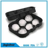 amazon manufactures silicone ball shaped ice cube tray maker mold