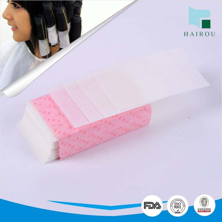 non-woven fabric for hair curly paper