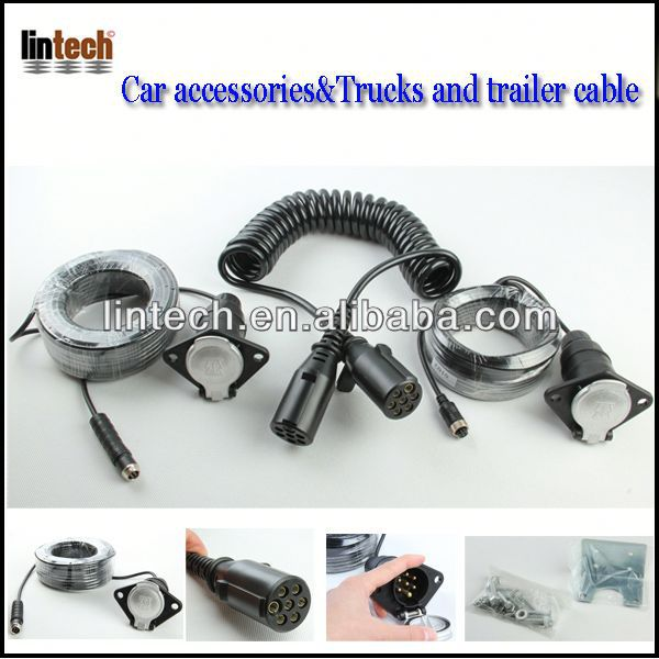 waterproof trailer cable/ KP Series For Cargo Transport flat trailer cable