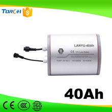 12V Promotional 40ah Special Rechargeable Li-ion Battery