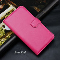colorful ultra thin Hybrid Hard +custom pu leather wallet Case For MICROMAX Fire phone