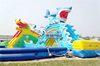 HUIZUN new design commercial inflatable water slide for adult/