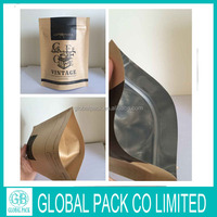 Resealable Food Packaging Bags Plastics Laminated Foil Bags