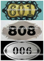photo chemical etched metal parts door decorations metal brass