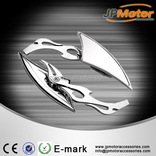 Motorcycle Body Spare Parts Plastic Parts, Rearview Mirror Bar End MIrror Side Mirror