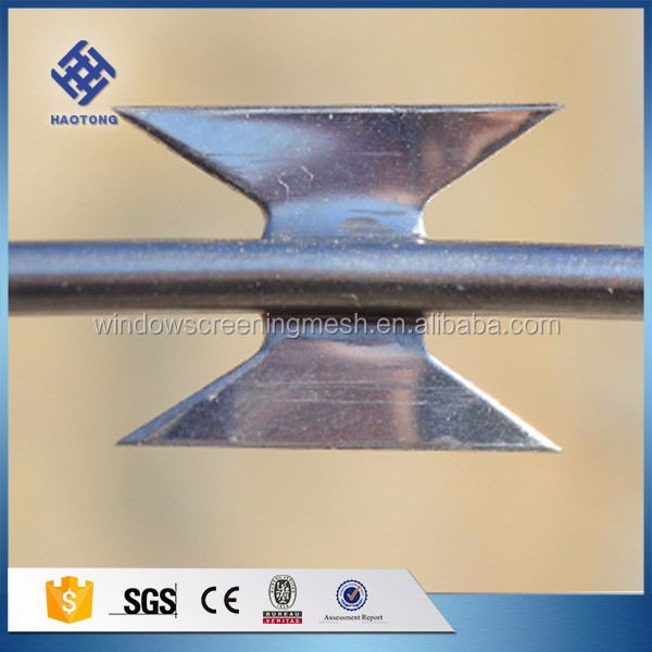 30 Years' factory supply galvanized razor wire razor barbed wire with clips