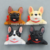 Custom 3D resin Animal dog fridge magnets for souvenir