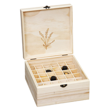 small plain product Box & Case Product Type and Box Type Wooden Essential oil packaging wood boxes