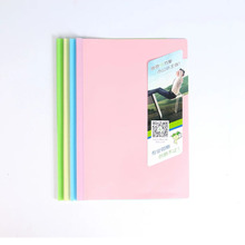 A4 7MM candy color report document holder for student