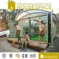 Panelized Movable Geodesic Dome House