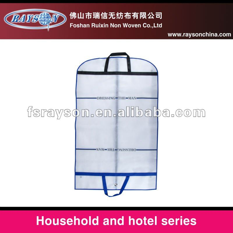 clear clothes dust cover