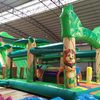 Giant Used Pool Inflatable Water Slide