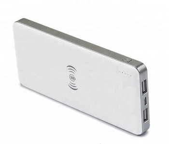 Portable Qi Wireless Power Bank Charger Pad External Battery Charger Power Bank For Cell Phone