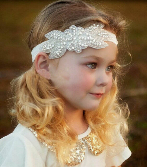 Z89259a Wedding Hair Accessories For Girls Kid Child Pictures For Children Gown