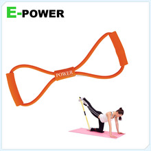 rubber band exercise equipment, custom resistant band, latex resistant band 8 shape