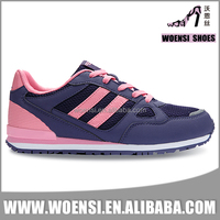 new beautiful girls customized low price casual sports shoes from factory
