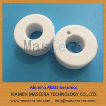 Structural Ceramic Parts 95% Alumina Al2O3 Ceramic Rings