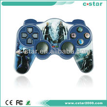 2018 Wireless game controller with liquid joypad gamepad steering wheel controller for ps2