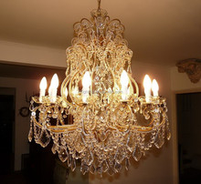 French style crystal luxury chandelier wholesale bohemian home decor
